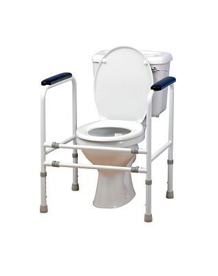Homecraft AdjustableSteel Toilet Surround