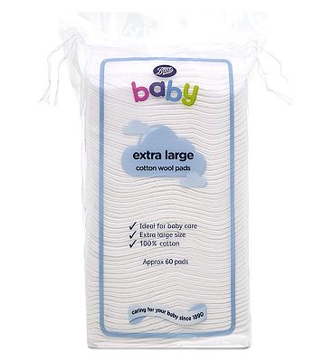 Boots Extra Large Cotton Wool Pads - 1 x 60 Pack