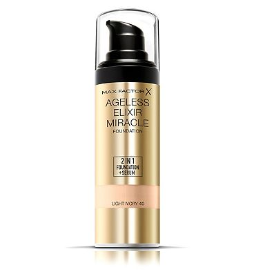 Max Factor Ageless Elixir 2 in 1 Foundation Natural Natural