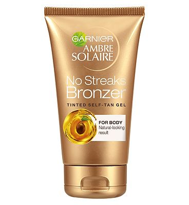 Ambre Solaire No Streaks Bronzer Tinted Self-Tan Gel 150ml