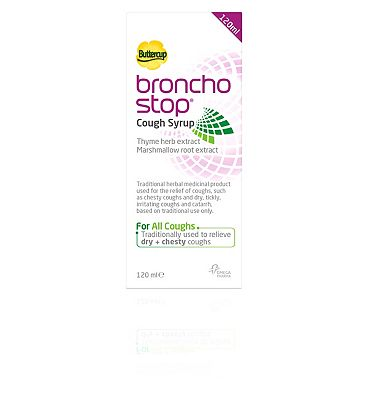 BronchoStop Cough Syrup - 120ml