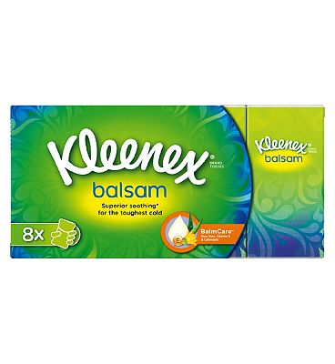 KleenexBalsam Hanks 8 pack Tissues