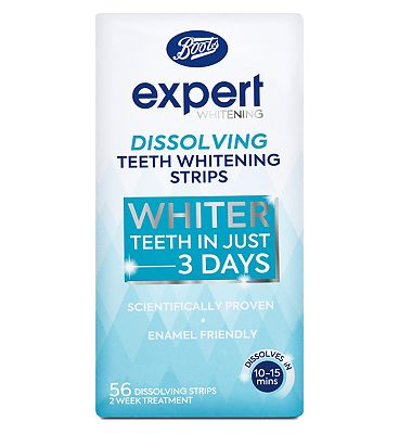 Boots Expert fast Teeth Whitening Strips - 56 strips