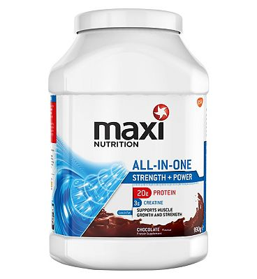 MaxiNutrition All in One Strength & Power Chocolate - 990g