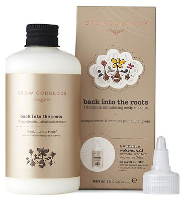 Grow Gorgeous Back into the Roots 10 Minutes Scalp Mask 240ml