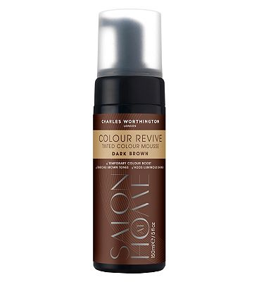 Charles Worthington Colour Revive Mousse, Dark Brown
