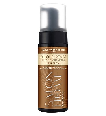 Charles Worthington Colour Revive Mousse, Light Brown