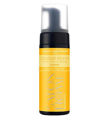 Charles Worthington Colour Revive Mousse, Blonde