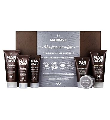 ManCave Survival Gift Set