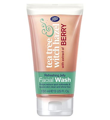 Boots Tea Tree & Witch Hazel Refreshing Jelly Facial Wash 150ml