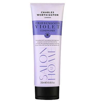 Charles Worthington Colour Enhancer Violet Conditioner 250ml