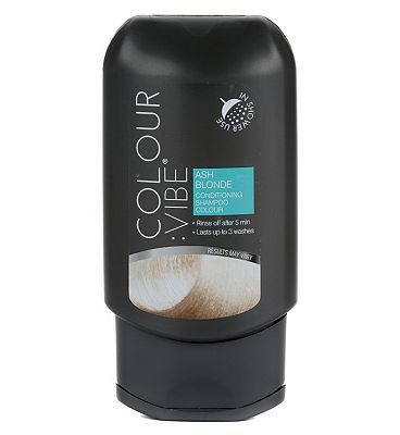 Colour:Vibe Ash Blonde Conditioning Shampoo-in Colour