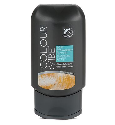 Colour:Vibe Strawberry Blonde Conditioning Shampoo-in Colour