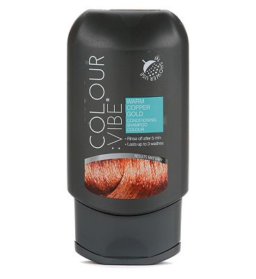 Colour:Vibe Warm Copper Gold Conditioning Shampoo-in Colour