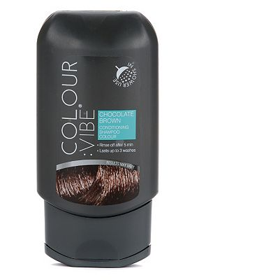 Colour:Vibe Chocolate Brown Conditioning Shampoo-in Colour
