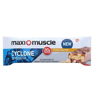 Maximuscle cyclone protein bar - Peanut butter 60g