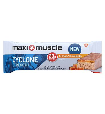 Maximuscle cyclone bar - Chocolate caramel 60g