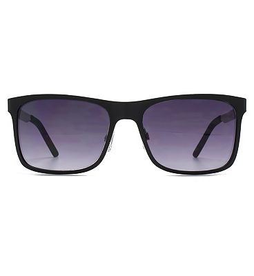 Ben Sherman Sunglasses Checked Temple Metal