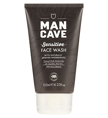 ManCave Sensitive face wash 125ml