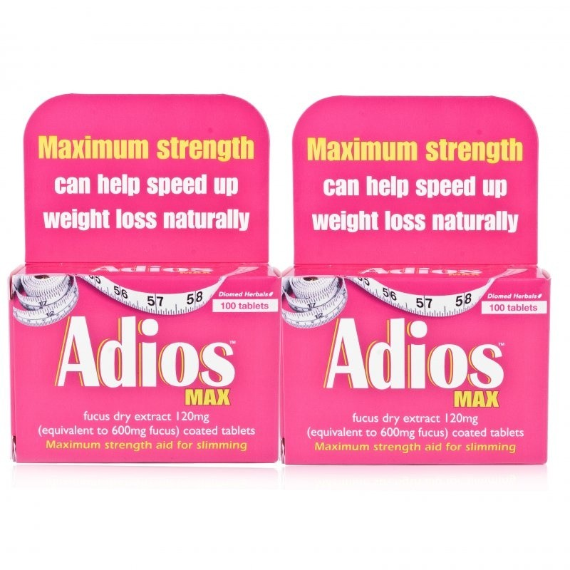 Adios Max Herbal Slimming - 200 Tablets