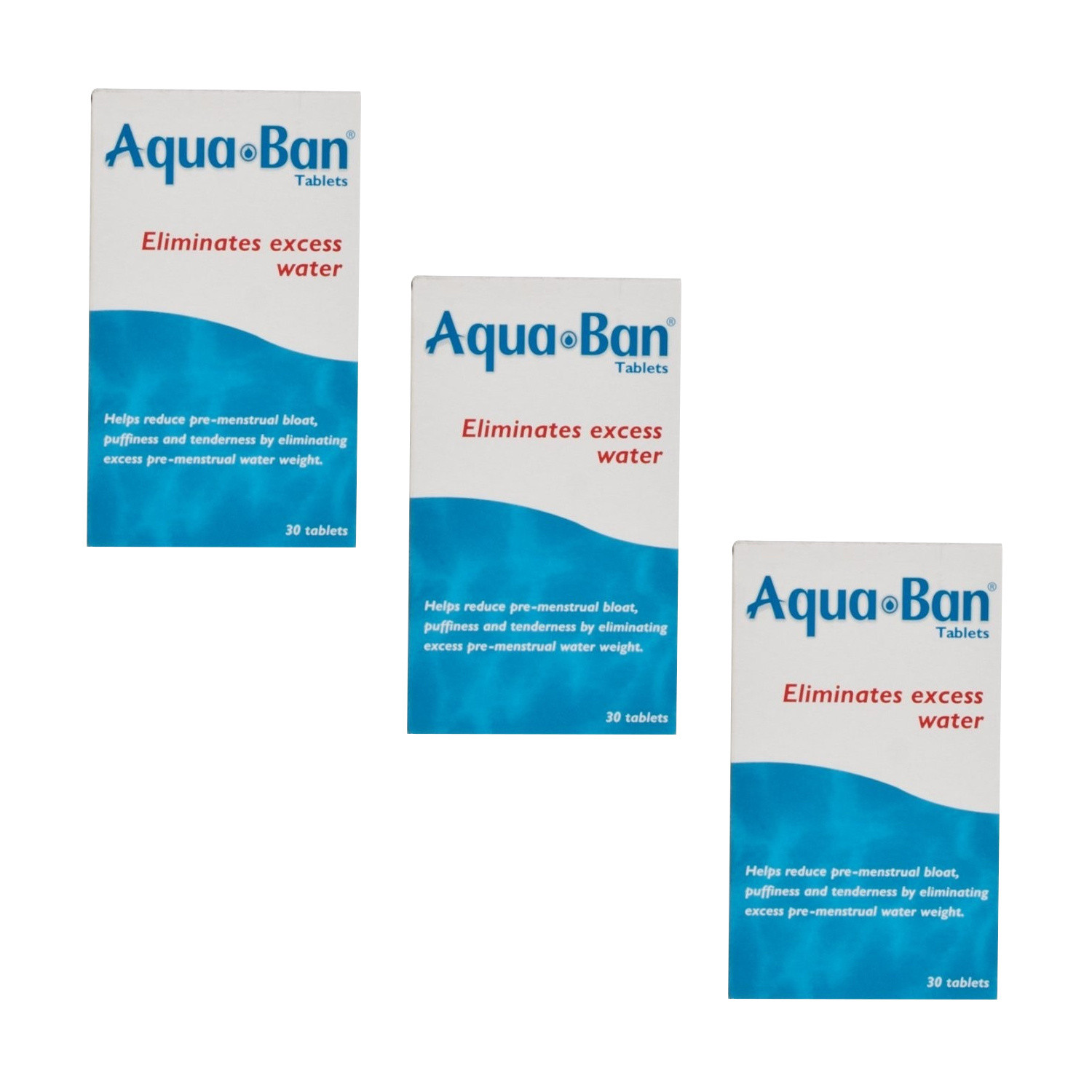 Aquaban Tablets - Triple Pack