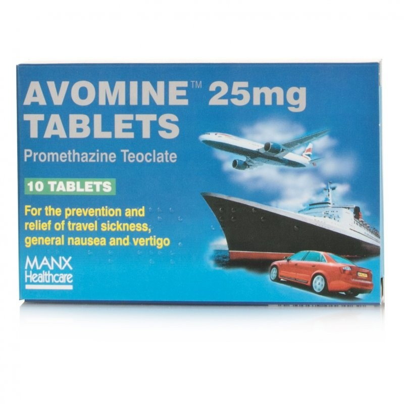 Avomine Tablets 25mg