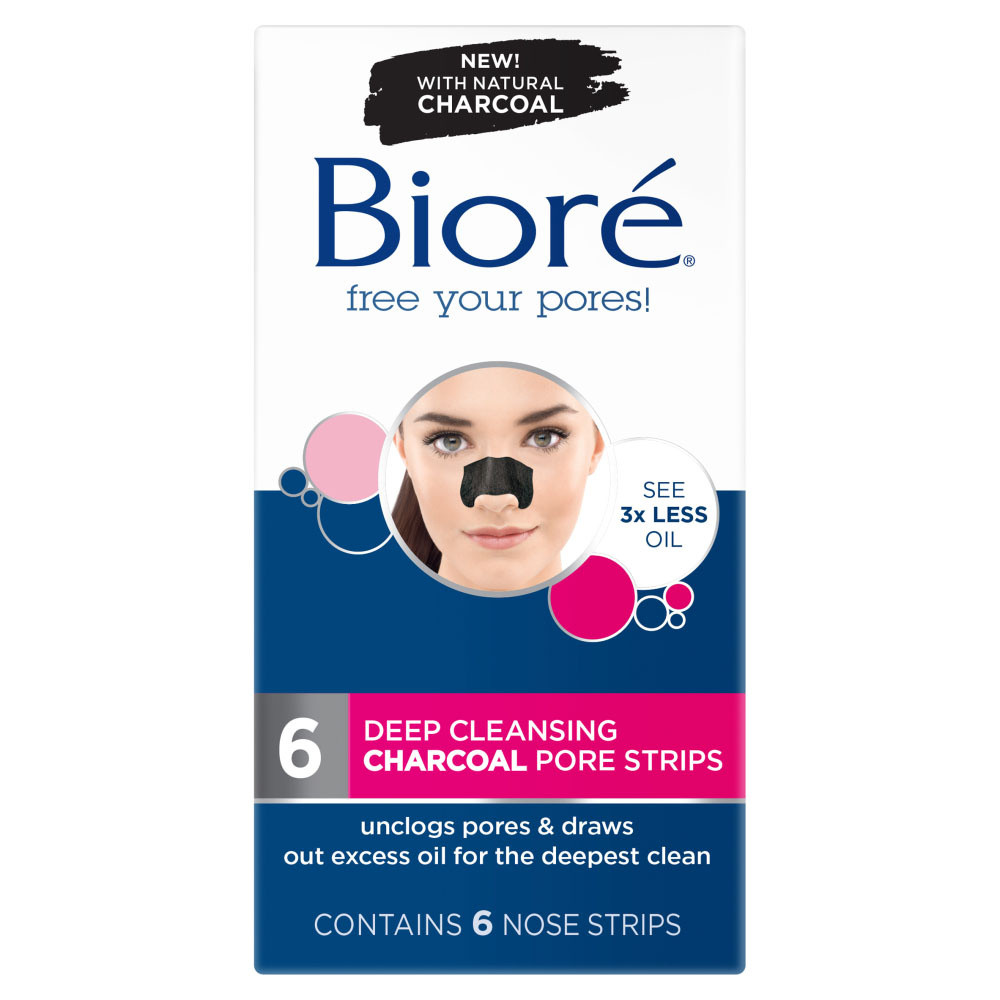 Biore Charcoal Pore Strips