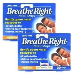 Breathe Right Nasal S/M Tan - 60 Strips