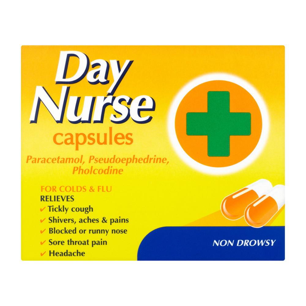 Day Nurse Cold and Flu Relief Capsules 20s