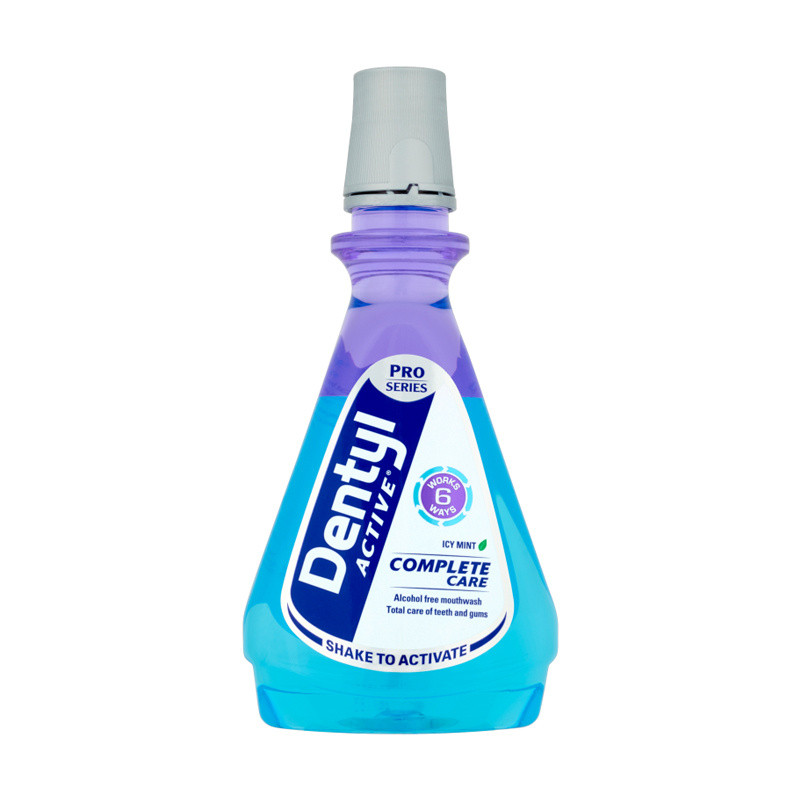 Dentyl Active Complete Care Icy Fresh Mint Mouthwash