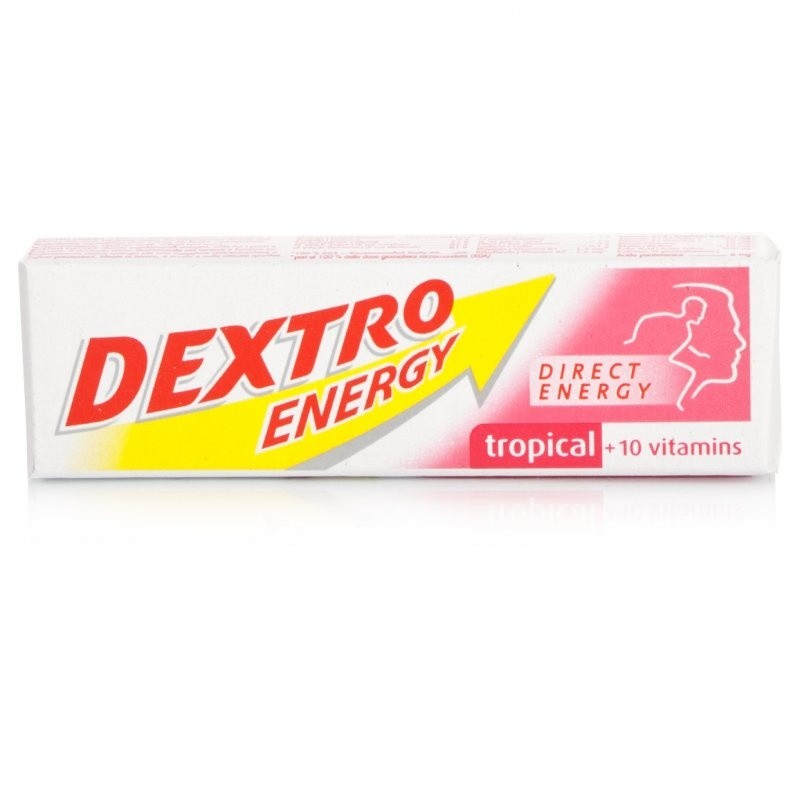 Dextro Energy Tablets Tropical