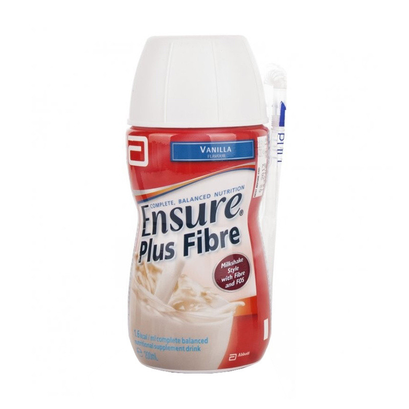 Ensure Plus Fibre Vanilla - 12 Pack