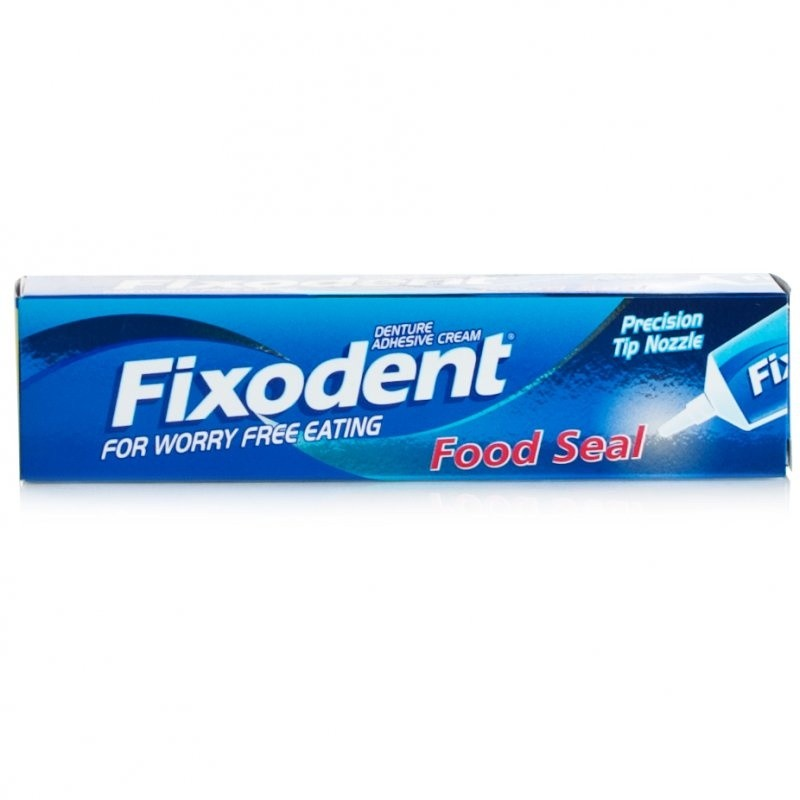 Fixodent Food Seal Denture Adhesive Cream
