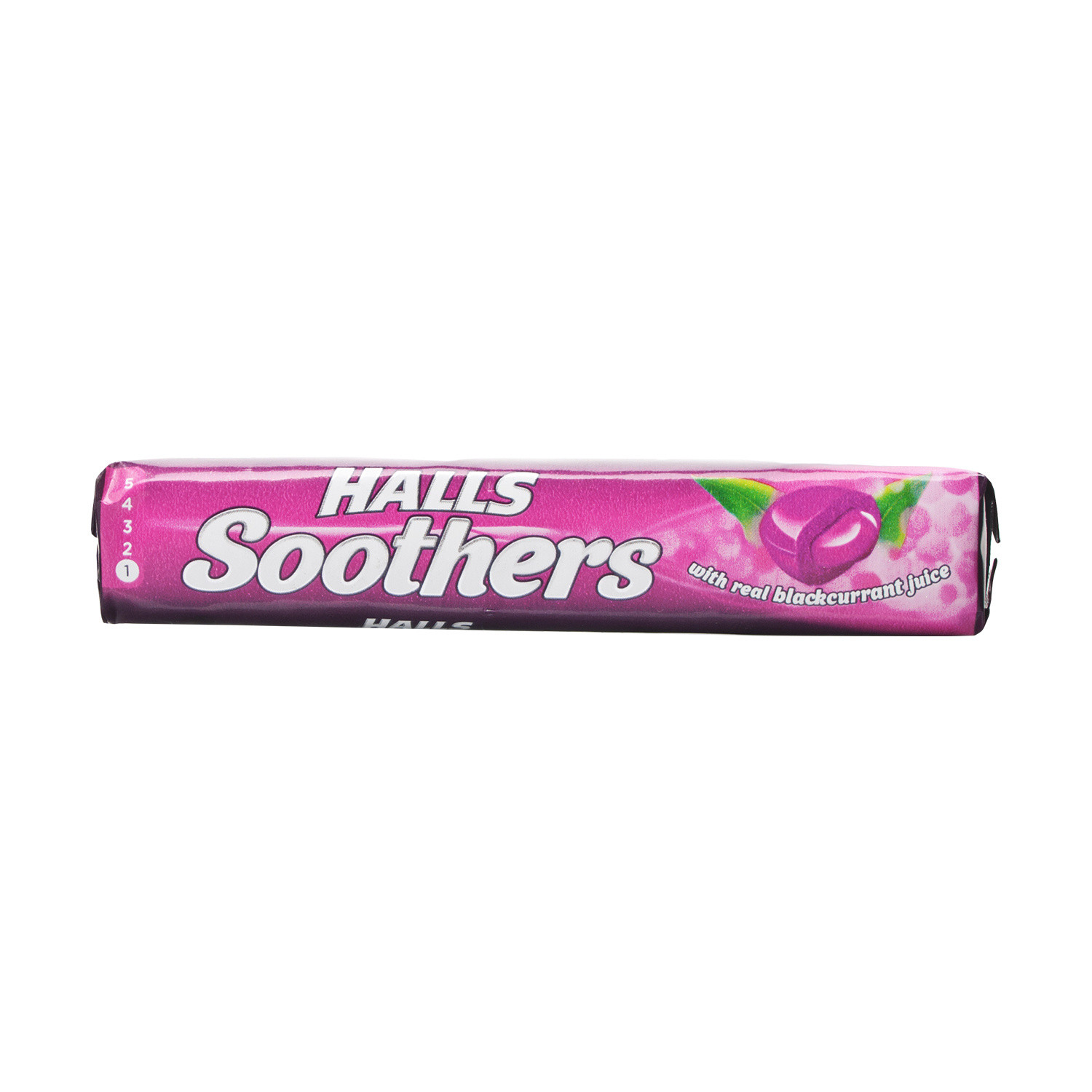 Halls Soothers Blackcurrant- 24Pack