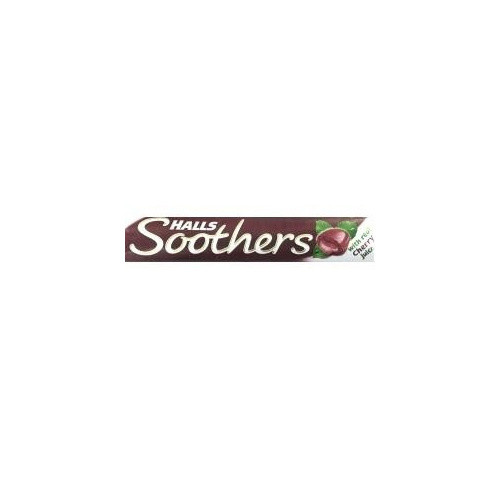 Halls Soothers Cherry 10 Lozenges - 24 Pack