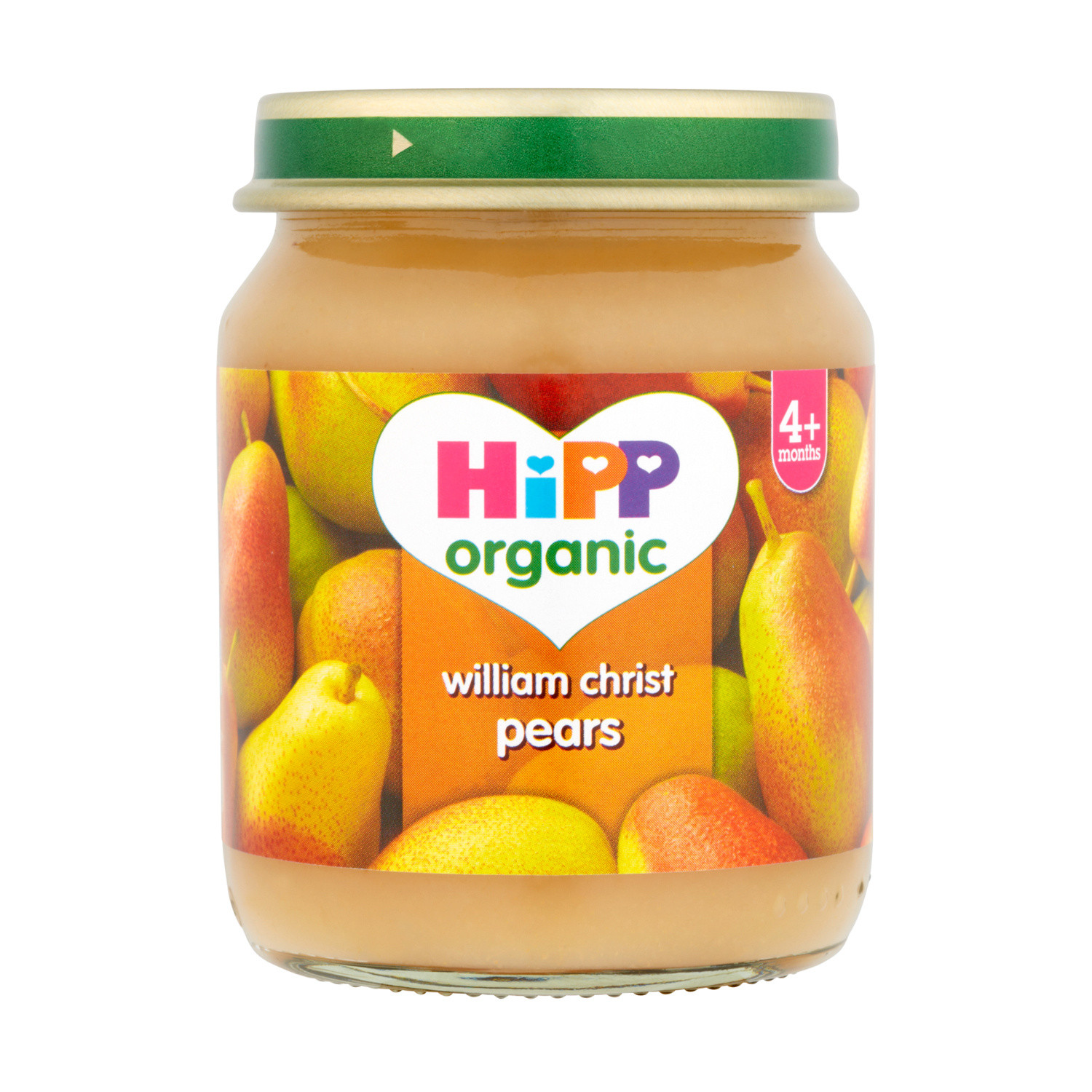 Hipp Organic 4months+ William Christ Pears
