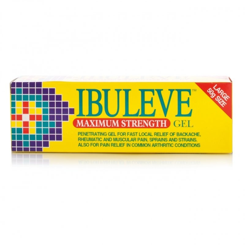 Ibuleve Maximum Strength Gel 10%
