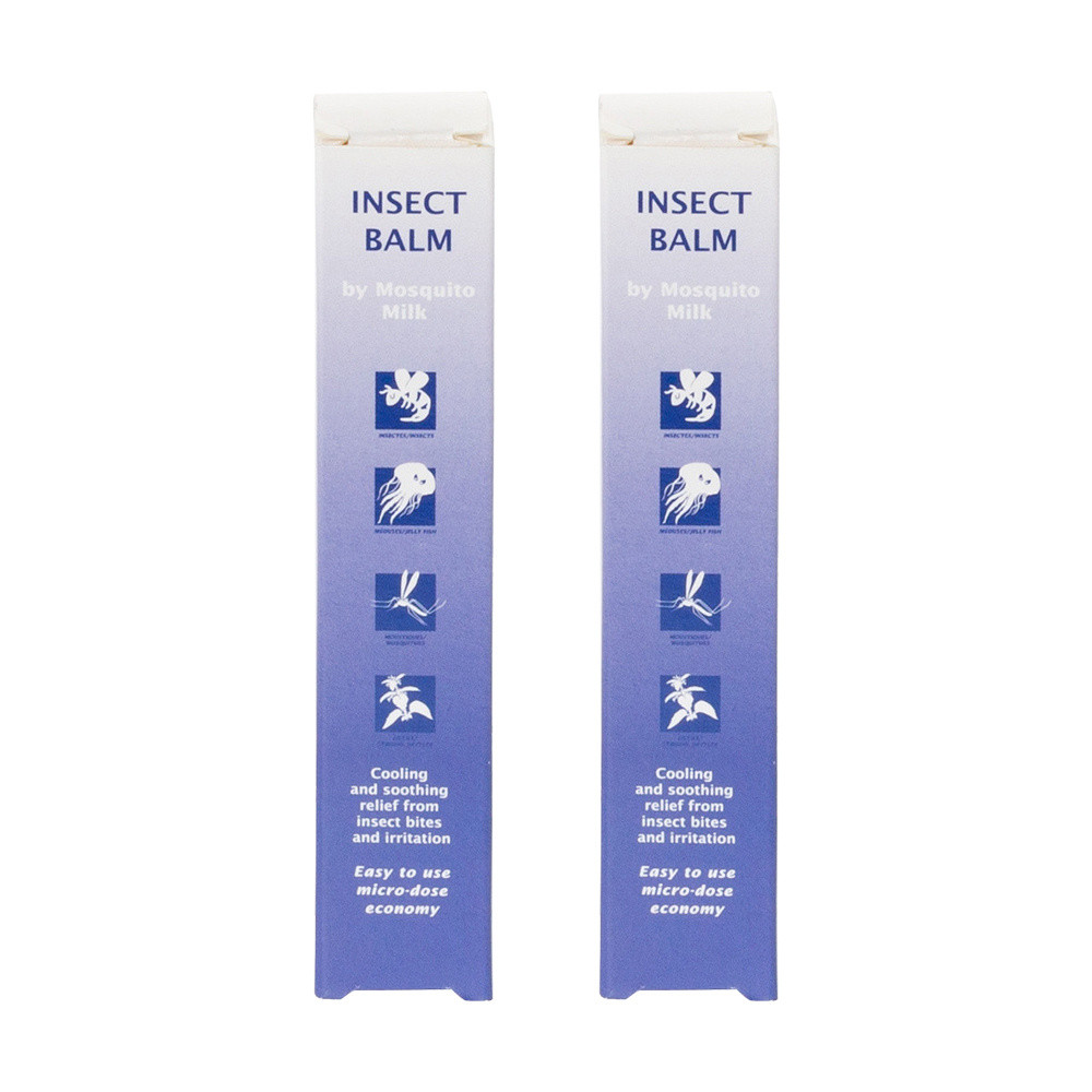 Insect Balm by Mosquito Milk Twin Pack