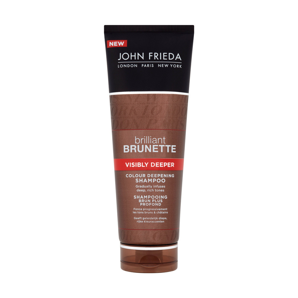 John Frieda Brilliant Brunette Visibly Deeper Colour Deepening Shampoo