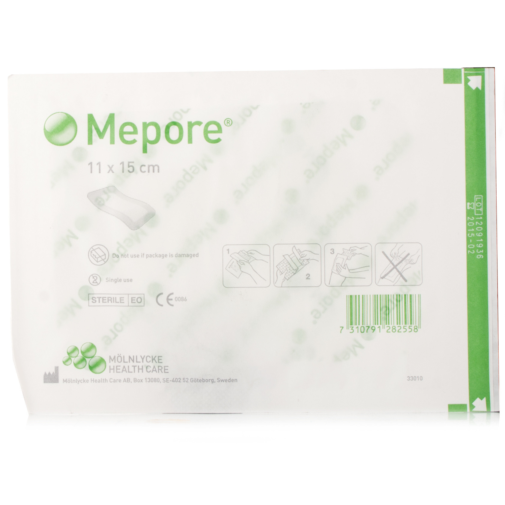Mepore Self-Adhesive Dressing 11x15cm - 40 Pack