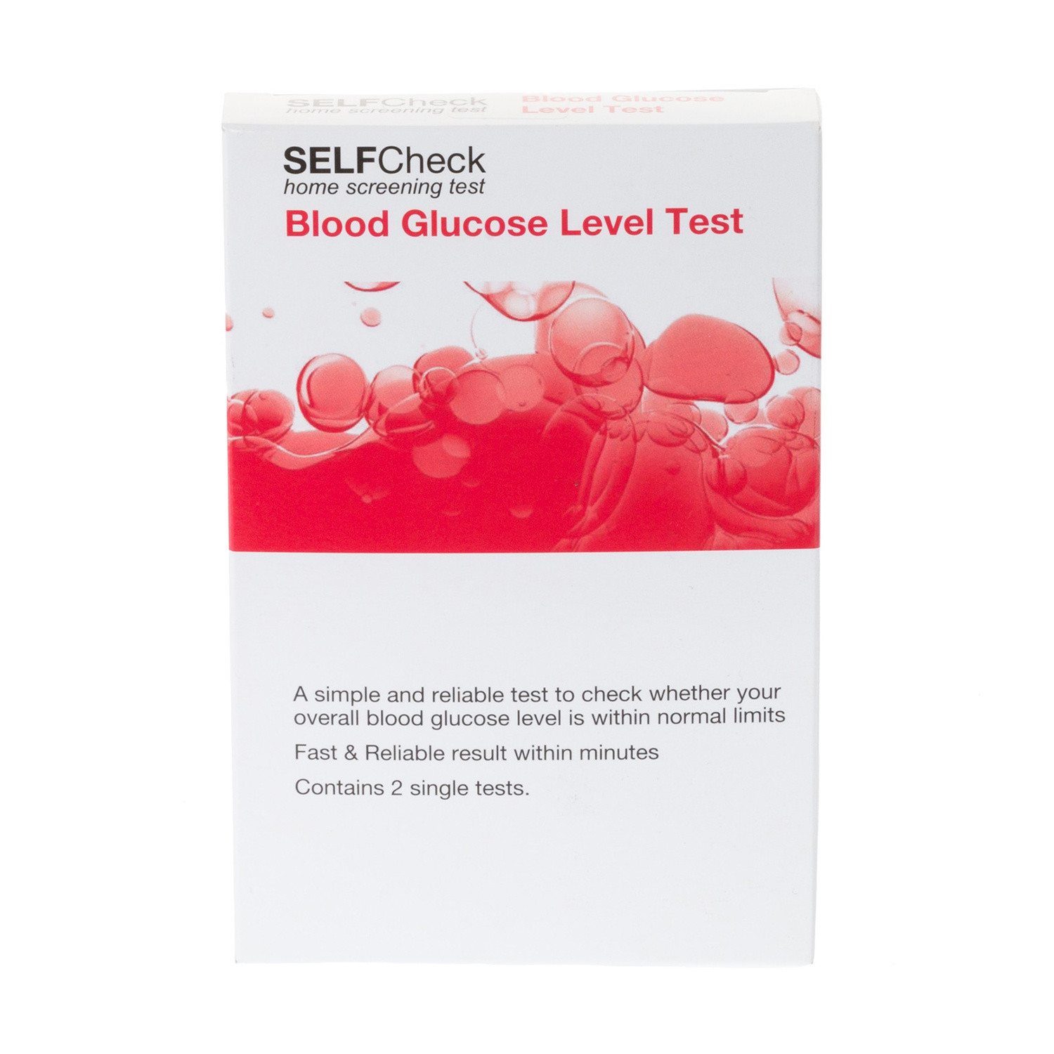 SELFcheck Blood Glucose Level Test