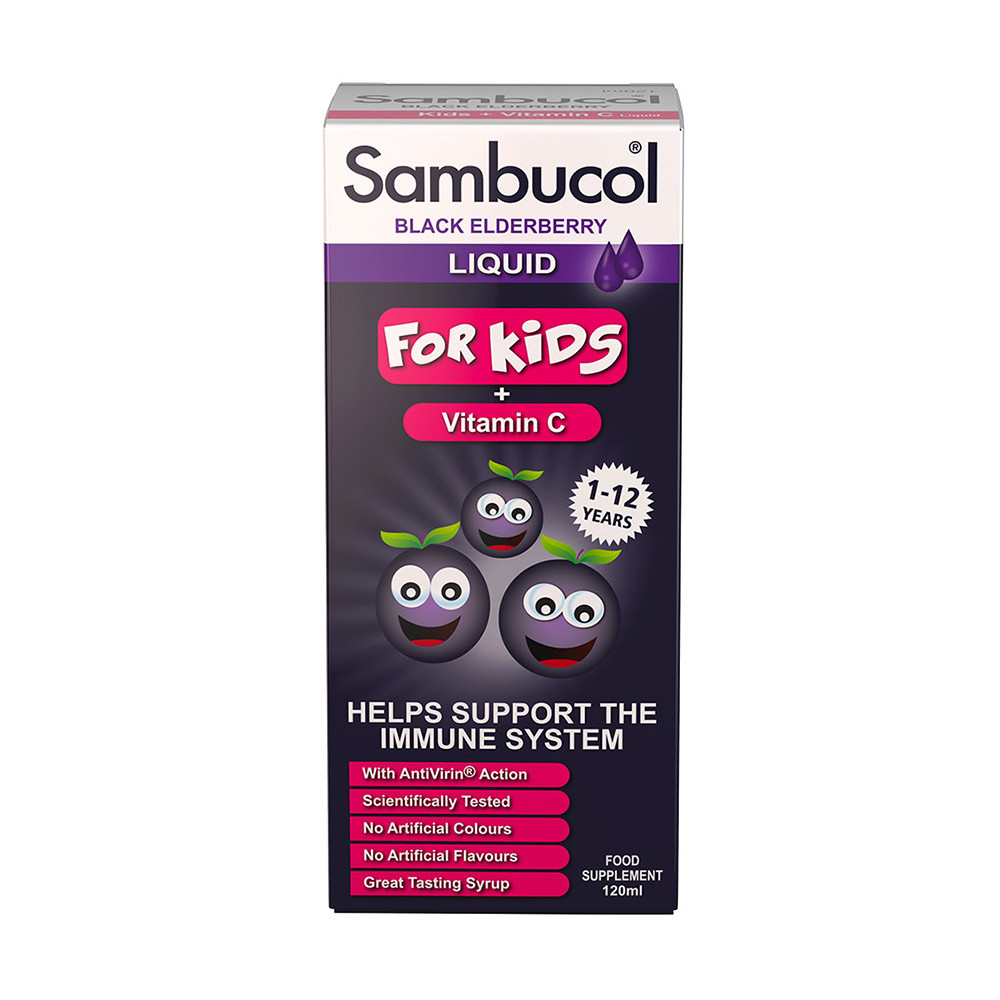 Sambucol Black Elderberry Extract For Children
