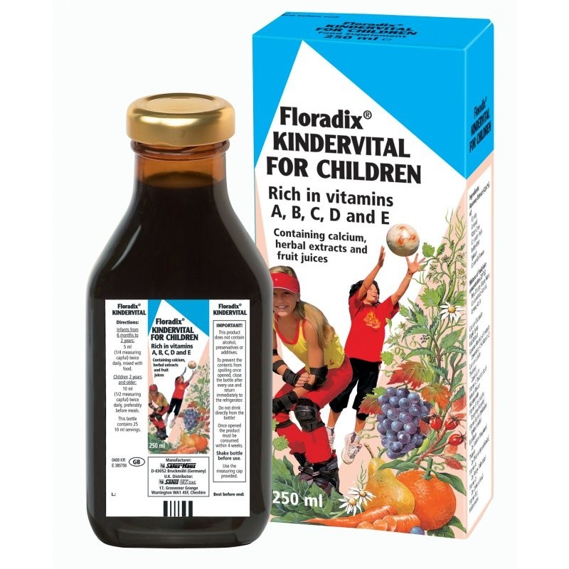 Floradix Kindervital Multivitamin Formula For Children