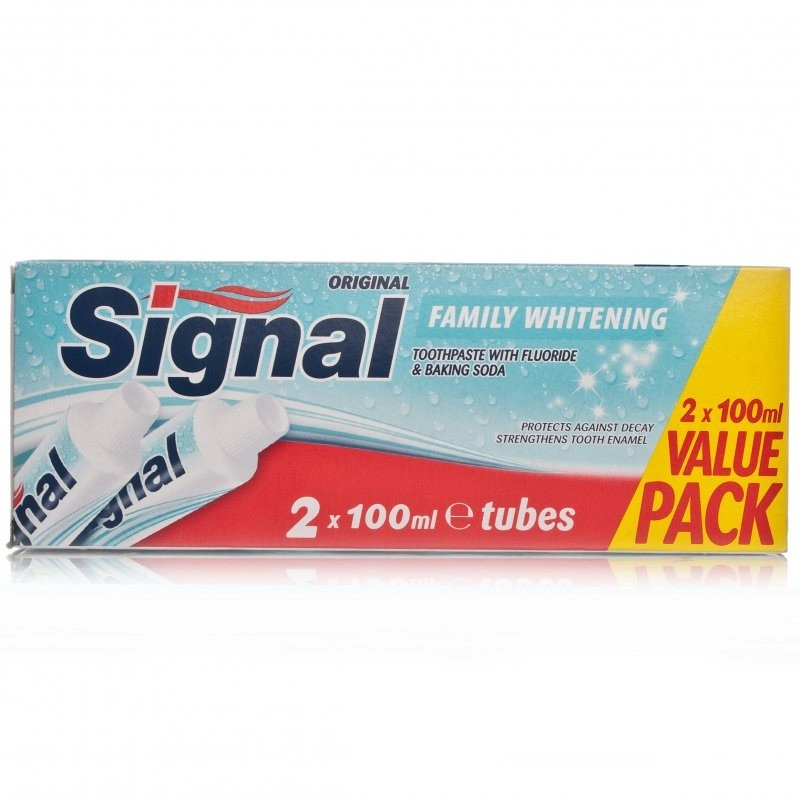 Signal Toothpaste Whitening Twin