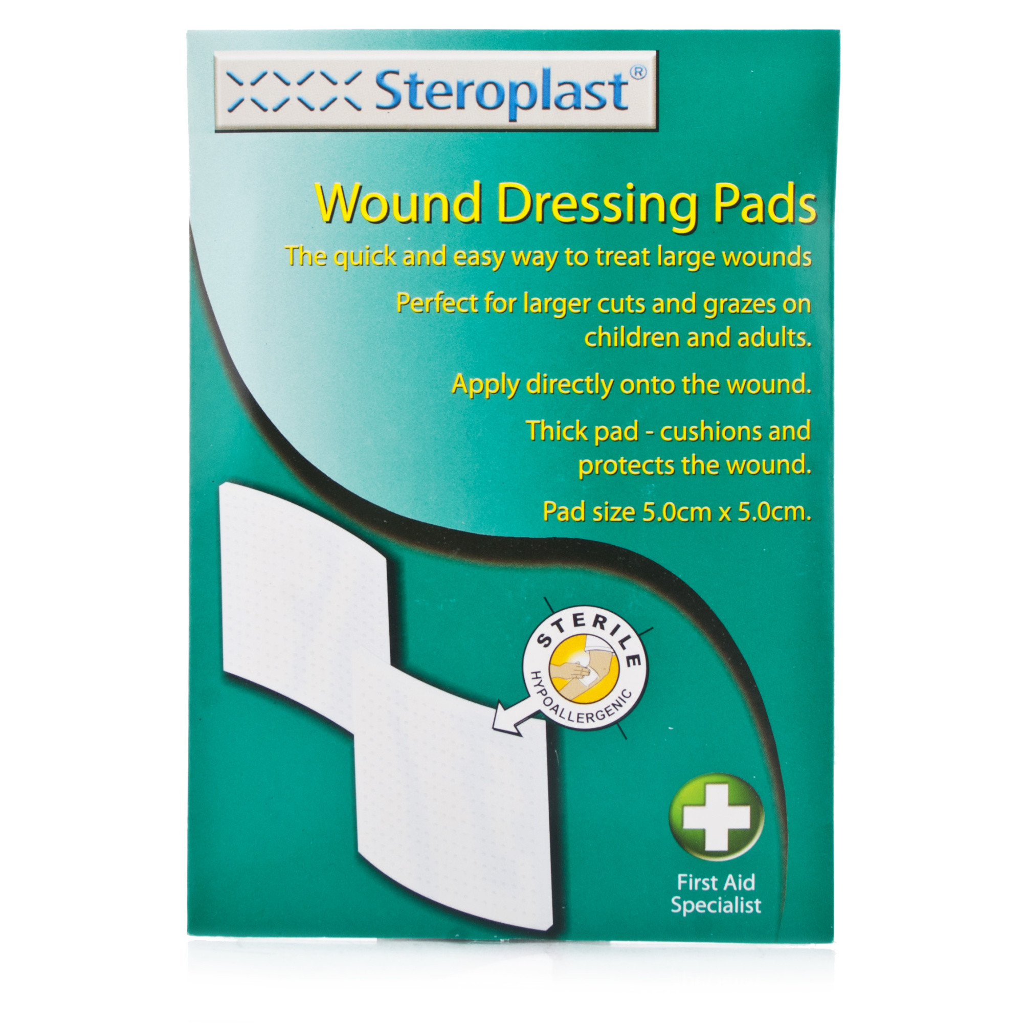 Steroplast Wound Care Dressing Pads