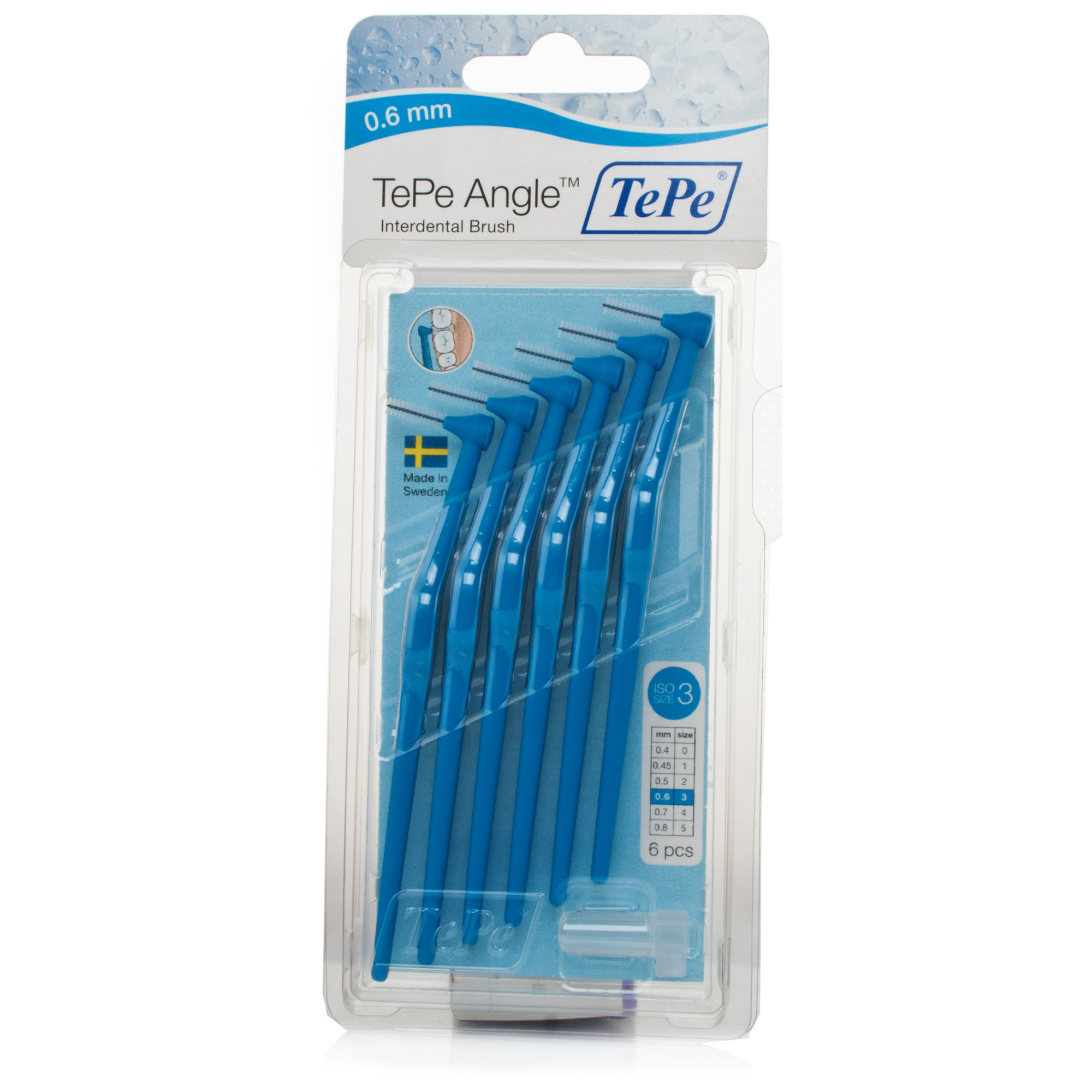 TePe Angle Interdental Brush Blue