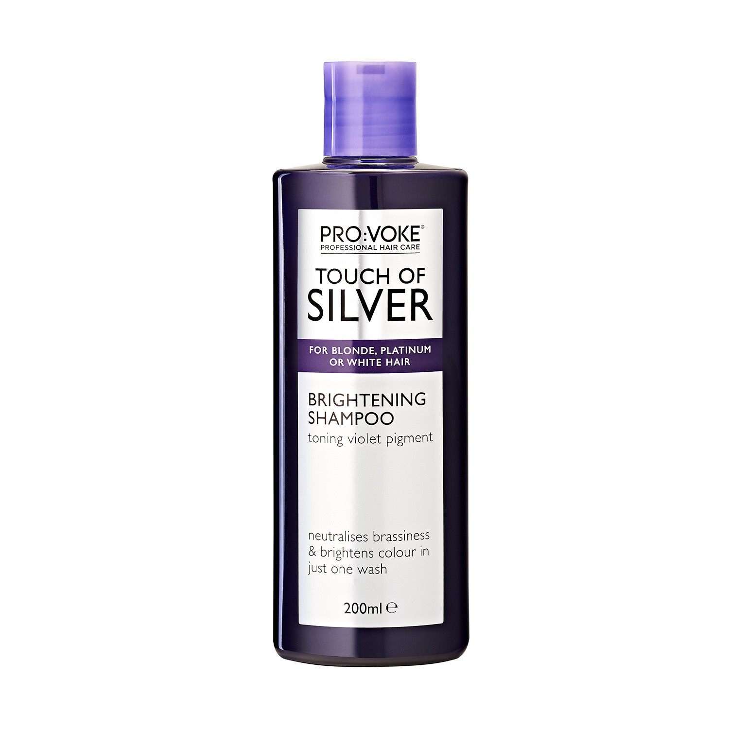 PRO:VOKE Touch of Silver Brightening Shampoo 200ml