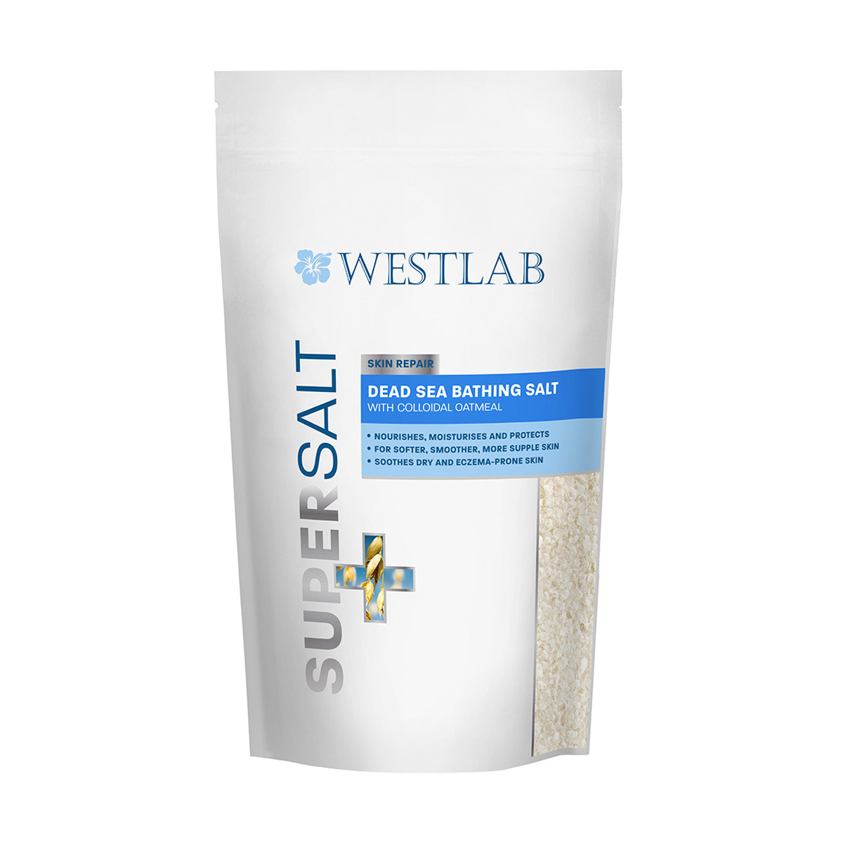 Westlab Supersalt Dead Sea with Collodial Oatmeal