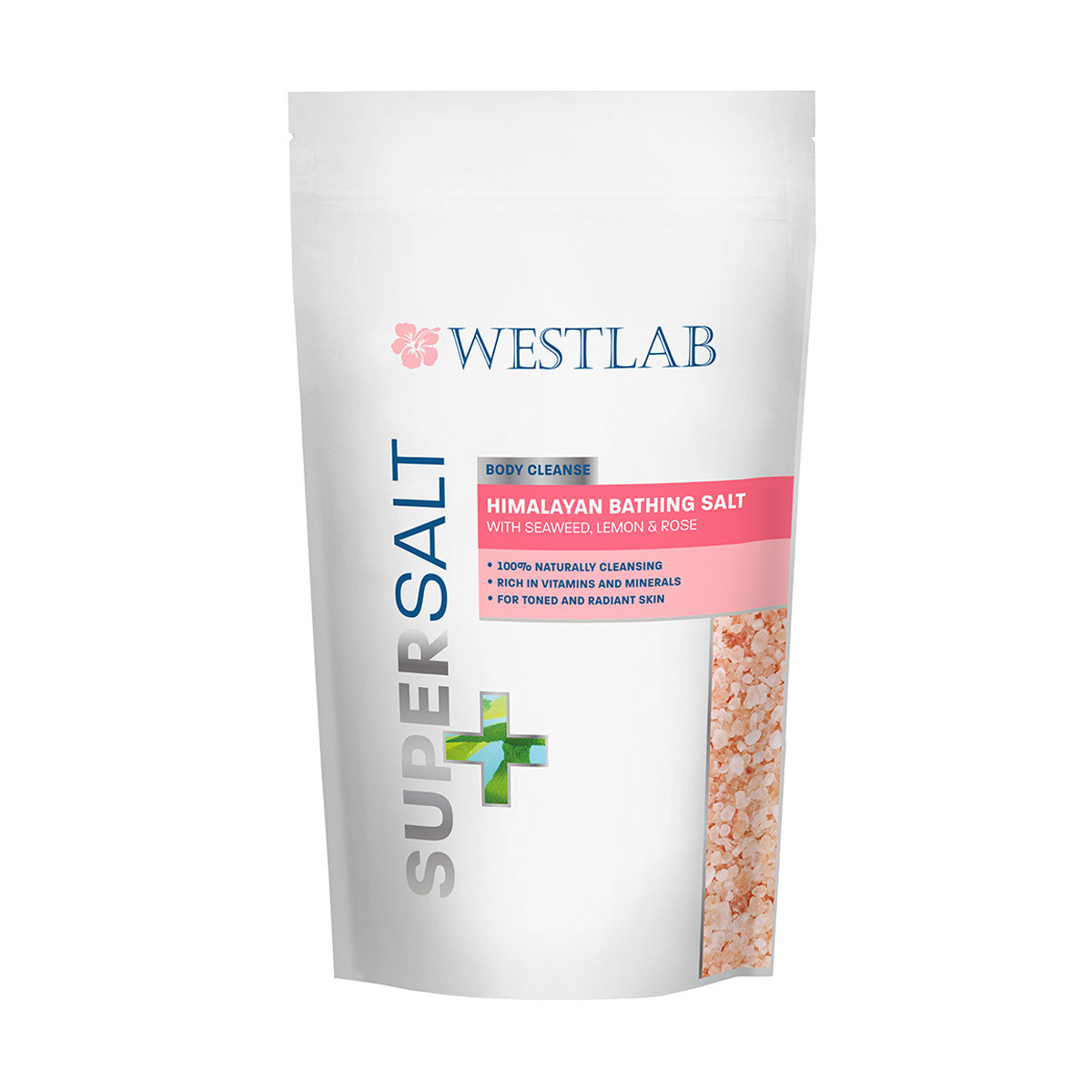Westlab Supersalt Himalayan with Seaweed Lemon and Rose