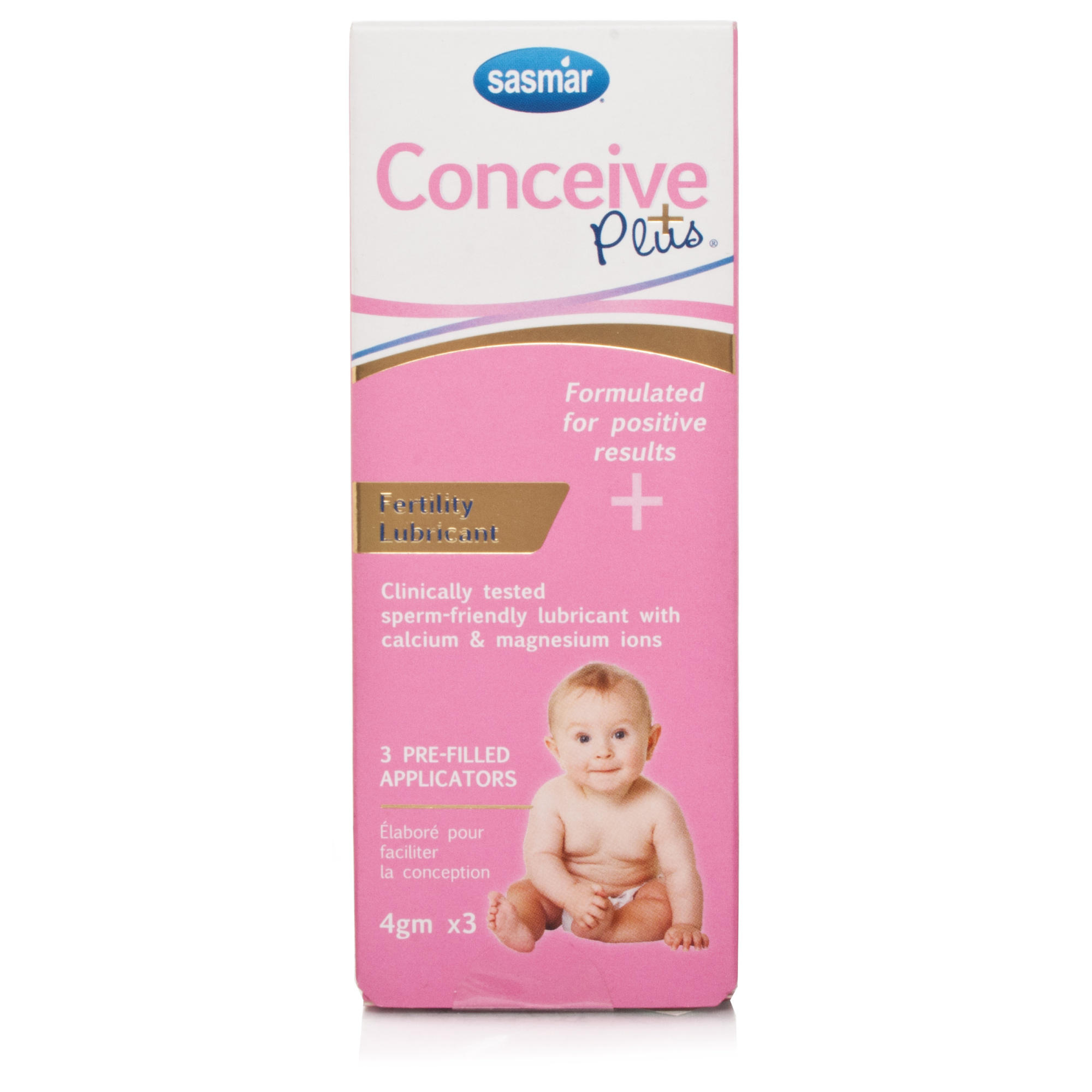 Conceive Plus Fertility Luibricant 3x4g Applicators